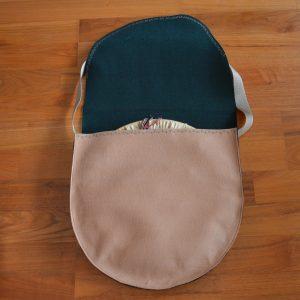 Tasche für Trommel aus Filz