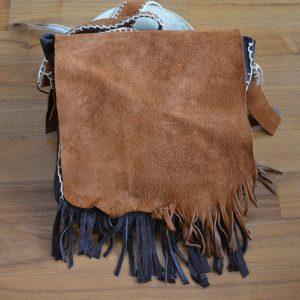Ledertasche als Handtasche