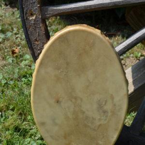 Trommel Hirsch oval