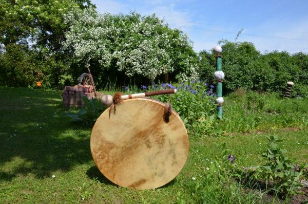 Drum mit Stick