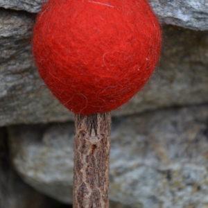 Klöppel rot