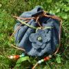 Lederbeutel für Runen
