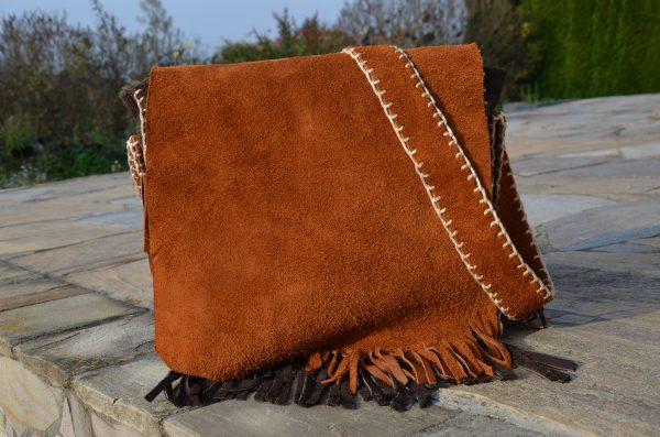 Ledertasche weich als Handtasche