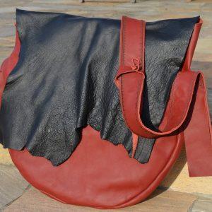 Tasche für Trommel aus Leder