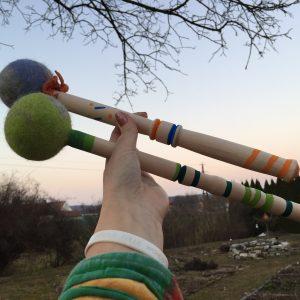 Trommelklöppel oder Trommelstick